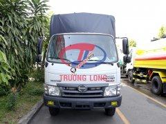 Xe tải mui bạt bửng inox 4.8 tấn | Hino XZU342LTKD3 (nhập khẩu) kèm phụ kiện và ưu đãi