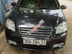 Bán Daewoo Gentra MT sản xuất 2010, màu đen, xe nhập, xe còn đẹp