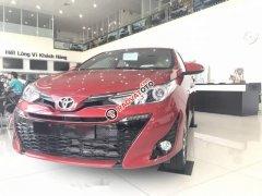 Bán Toyota Yaris 2019, màu đỏ, nhập khẩu, giá tốt