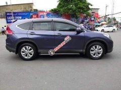 Bán Honda CR V 2014, màu xanh lam, nhập khẩu