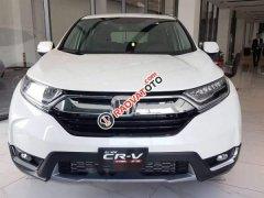 Cần bán Honda CR V 2019, màu trắng, nhập khẩu Thái Lan
