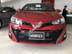Cần bán xe Toyota Yaris 1.5G đời 2019, màu đỏ, nhập khẩu nguyên chiếc, giá cạnh tranh