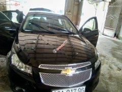 Bán Chevrolet Cruze LS 1.6MT đời 2012, màu đen, giá 305tr
