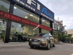 Cần bán Audi Q3 sx 2014, đăng ký lần đầu 2015 màu nâu