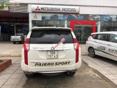 Cần bán Mitsubishi Pajero Sport Xăng đời 2018, màu trắng, xe nhập số tự động
