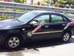 Bán xe Daewoo Lacetti sản xuất 2005, màu đen, nhập khẩu