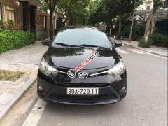 Bán Toyota Vios 1.5E đời 2015, màu đen, xe gia đình