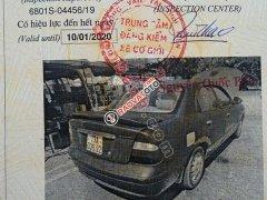 Bán ô tô Daewoo Nubira II 2.0 năm 2001, màu đen
