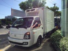 Hyundai New Porter 150 2019 thùng đông lạnh, máy lạnh -18 độ nhập khẩu, tặng bảo hiểm toàn phần 100%