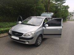 Bán Hyundai Getz MT 1.1 2010, màu bạc, nhập khẩu, 187tr