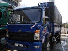 Thanh lý xe tải Howo 8t5 thùng 7m ga cơ, trả góp 190 triệu nhận xe