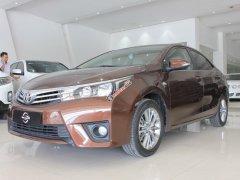 Cần bán Toyota Corolla altis G sản xuất 2016, màu nâu