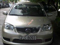 Cần bán Toyota Vios 2005, màu vàng, chính chủ