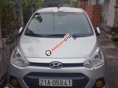 Chính chủ bán Hyundai Grand i10 1.0 MT 2014, màu bạc, nhập khẩu