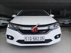 Bán Honda City 1.5 CVT đời 2018, màu trắng, giá tốt