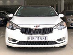 Cần bán xe Kia K3 năm sản xuất 2014, màu trắng