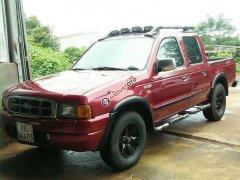 Bán lại xe Ford Ranger 2001, màu đỏ, hai cầu máy dầu