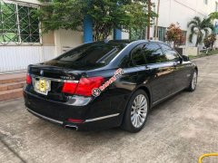 Bán xe BMW 7 Series 750Li đời 2010, màu đen, xe nhập, full option