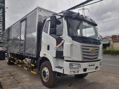 Xe tải thùng siêu dài chở hàng cồng kềnh - FAW 7T2 thùng dài 9m7