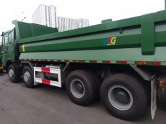 Xe ben Howo Dump Truck 4 chân euro 5