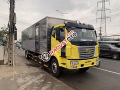Bán xe tải Faw thùng dài 10m chuyên chở bia, nệm, hỗ trợ trả góp 80%