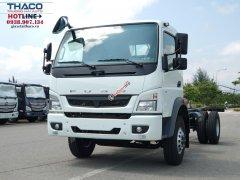 Bán xe tải Misubishi Fuso Canter FA 1014RL - tải 5.5 tấn, trả góp 80%, LH 0938.907.134