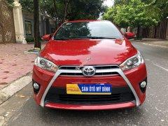 Bán xe lướt nhẹ Toyota Yaris sản xuất 2017, màu đỏ xe gia đình giá tốt 610tr