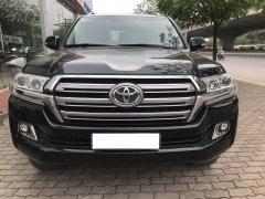 Bán xe Toyota Land Cruiser VX 2016, màu đen, xe nhập Chính hãng
