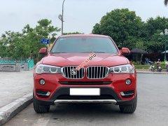 Bán BMW X3 Xdrive20i AT màu đỏ sản xuất 2014, biển Hà Nội