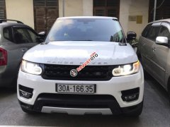 Bán ô tô LandRover Range Rover Sport Autobiography sản xuất năm 2014, màu trắng, nhập khẩu nguyên chiếc như mới