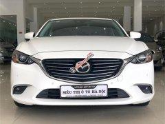 Bán Mazda 6 2.0 AT 2018, màu trắng, odo 27.000 km. Hotline: 0985.190491 Ngọc