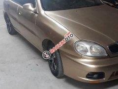 Cần bán Daewoo Lanos sản xuất năm 2001, màu vàng