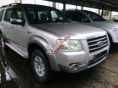 Cần bán lại xe Ford Everest sản xuất năm 2008, màu bạc, nhập khẩu nguyên chiếc