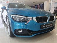 Cần bán BMW 4 Series 420i Gran sản xuất 2018, màu xanh lam, xe nhập