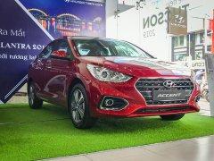 Bán xe Hyundai Accent AT DB năm 2019, màu đỏ, 550tr
