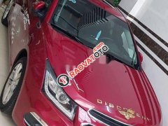 Cần bán Chevrolet Cruze Ltz đời 2017, màu đỏ chính chủ, giá chỉ 495 triệu