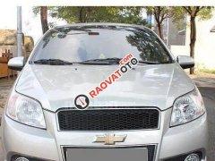 Cần bán xe Chevrolet Aveo sản xuất năm 2017, màu bạc
