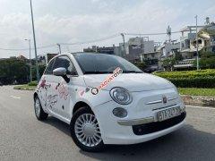 Bán ô tô Fiat 500 1.2 turbo 2010, màu trắng, nhập khẩu số tự động