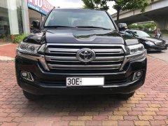 Cần bán xe Toyota Land Cruiser VX 2016, màu đen, nhập khẩu nguyên chiếc