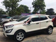 Xe Ford EcoSport MT 2019, màu trắng số sàn, giá 490tr