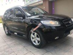 Bán Hyundai Santa Fe đời 2008, màu đen, nhập khẩu