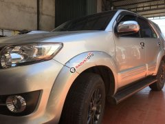 Cần bán xe cũ Toyota Fortuner sản xuất 2015, màu bạc