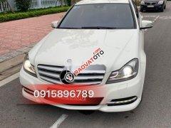 Bán Mercedes C250 sản xuất 2011, màu trắng, nhập khẩu, số tự động