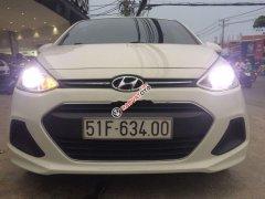 Cần bán lại xe Hyundai Grand i10 sản xuất năm 2015, màu trắng, nhập khẩu như mới