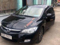 Cần bán Honda Civic năm sản xuất 2008, màu đen, giá 336tr
