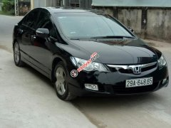 Cần bán lại xe Honda Civic đời 2007, màu đen