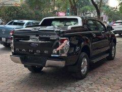 Bán Ford Ranger XLT 2.2L 4x4 MT năm 2017, màu đen, nhập khẩu, số sàn