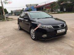 Cần bán lại xe Kia Forte SX 1.6 MT 2011, màu đen, 330tr