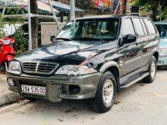 Bán Ssangyong Musso 2.3 AT 2005, màu đen, nhập khẩu, số tự động