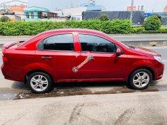 Bán Chevrolet Aveo năm 2018, màu đỏ mới chạy 9.700km, 370 triệu